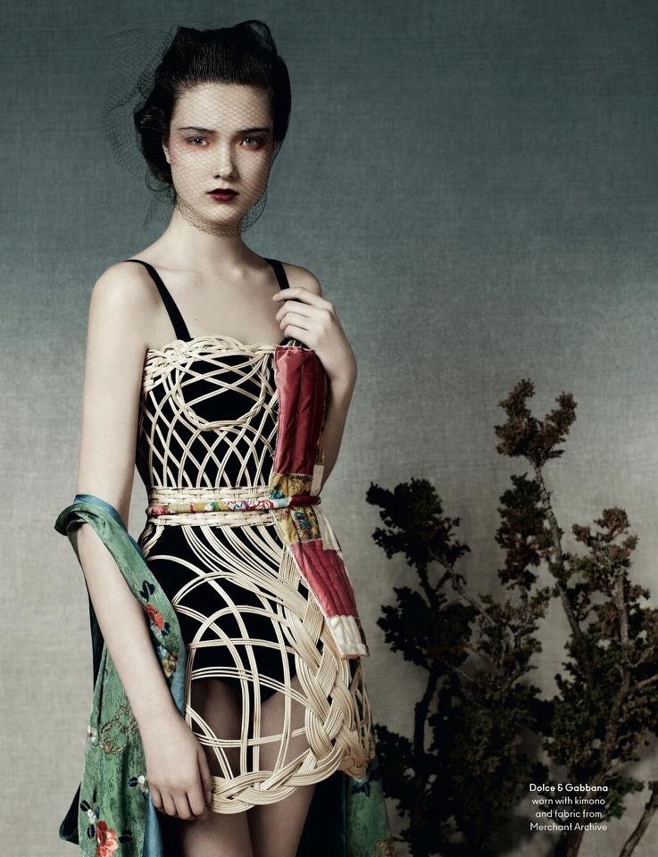 Yumi Lambert, Another Magazine SS13