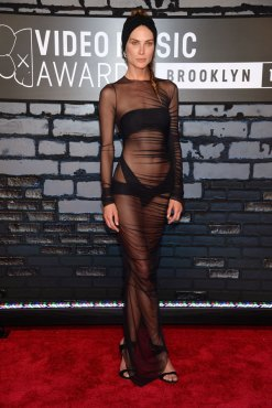 Erin Wasson in Alexandre Vauthier Couture