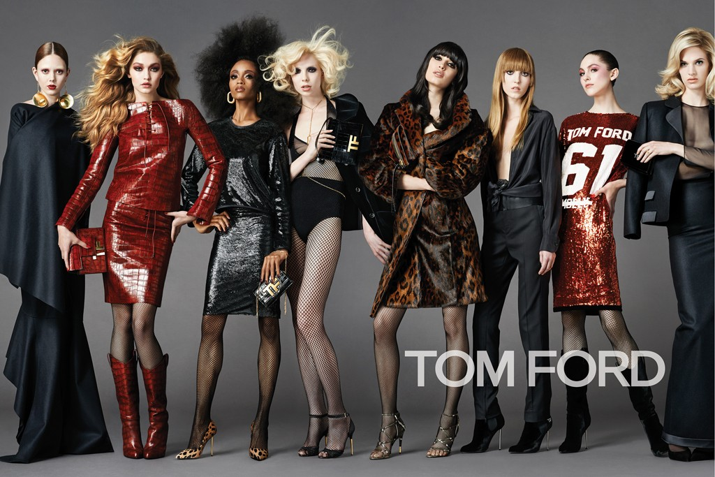 The Most Fashion Line-up for Tom Ford Fall 2014/15 Ad Campaign