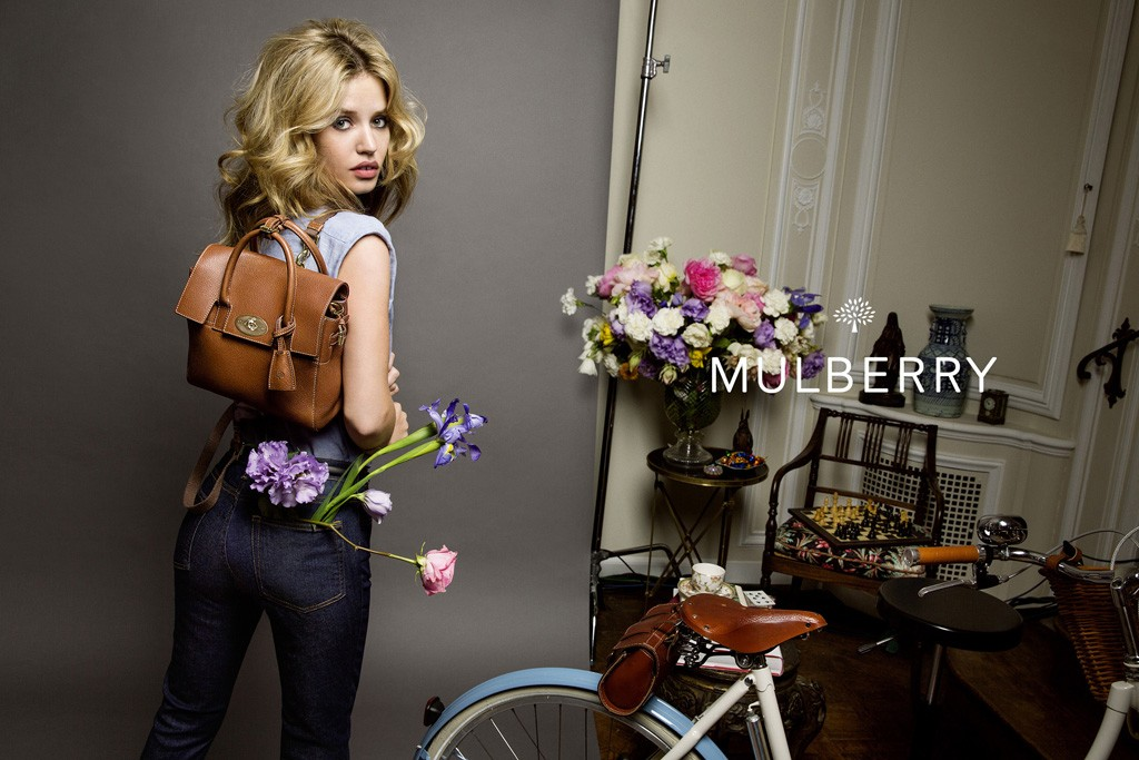 Georgia May Jagger for Mulberry Spring 2015 Ad Campaign