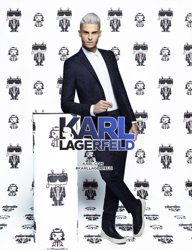 Karl Lagerfeld SS16 ad campaign