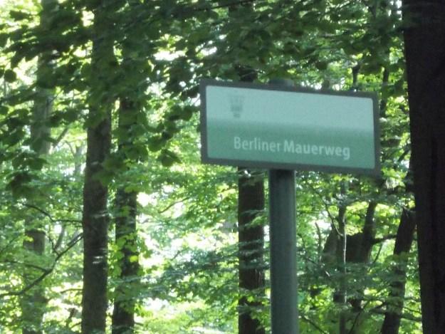 Entlang der ehemalige Innerdeutsche Grenze…
