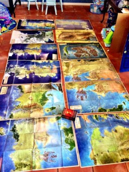 Todos los mapas de The Lands of Ice and Fire