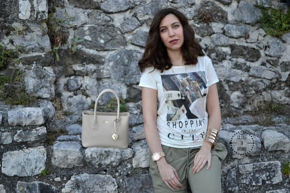 t-shirt in fibra di latte
