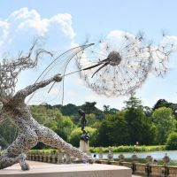 Breathtaking Lifelike Steel Wire Fairies