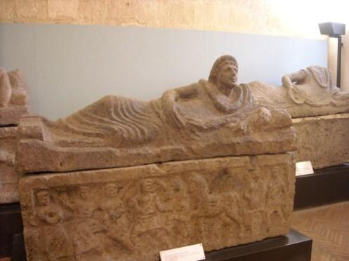 Tarquinia - Sarcófagos Tumba Cavalluccio