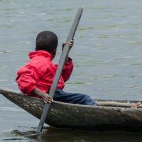 Ganvie, pueblo flotante de Benin