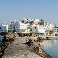 Visita a la capital de Naxos: Khora