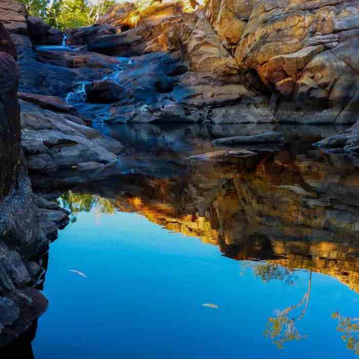The highlight of the Jatbula Trail is the incredible waterholeshellip