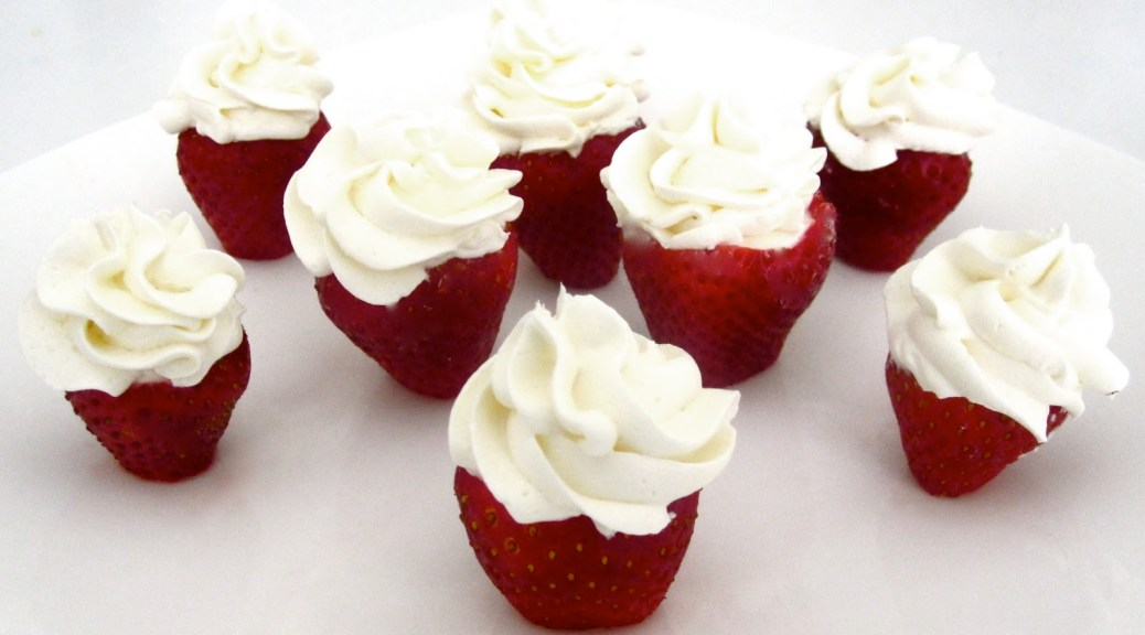 strawberry-whipped-cream