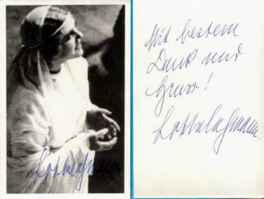 Elsa with Signature