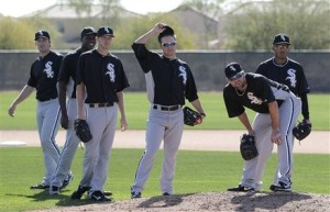 Philip Humber, Simon Castro, Chris Sale, Jake Peavy, John Danks, Nestor Molina