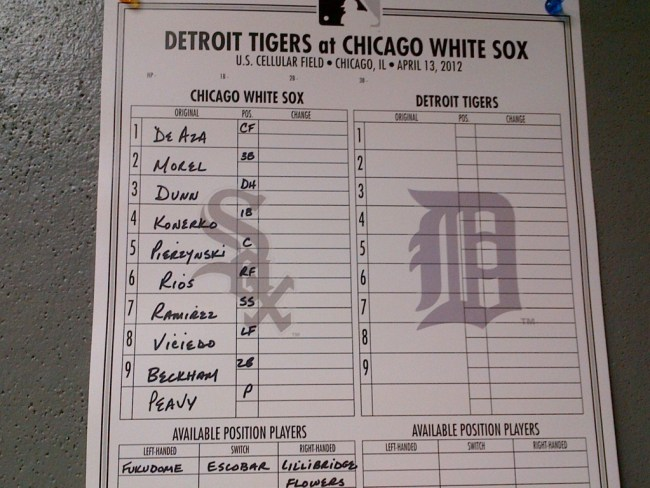 whitesox-tigers-lineup