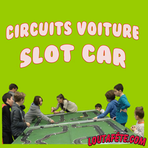 Circuit voitures slot car
