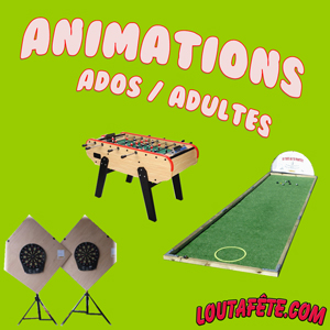 Animation ados / adultes
