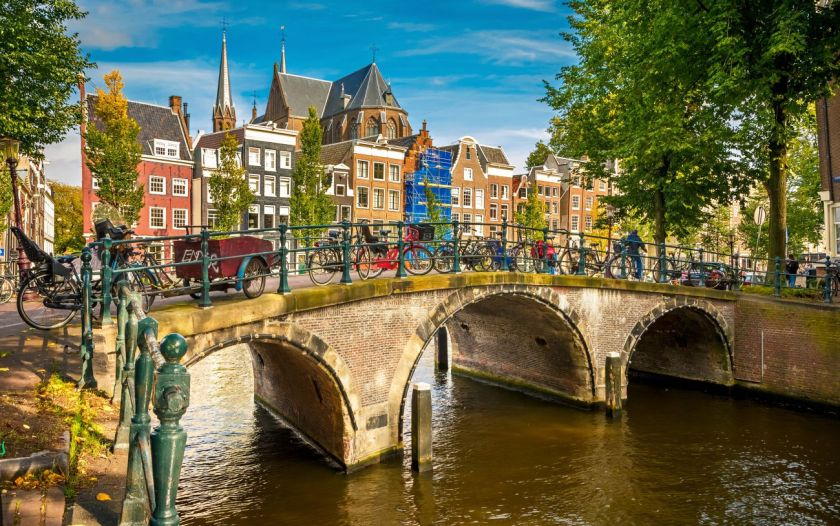 credits. Amsterdam by SBorisov/can stock photos