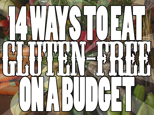 Gluten-free on a budget