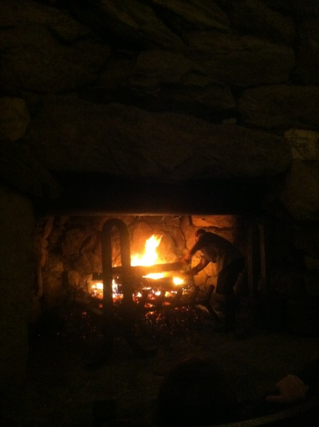 fireplace at grove park inn