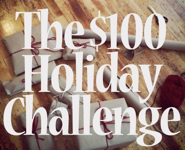 The $100 holiday challenge: Can you spend just $100 on gifts this holiday season?