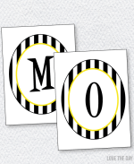 Bee Party PRINTABLES:: Mommy To BEE Banner