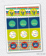 Fiesta Party PRINTABLES:: Party Tags