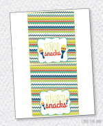 Fiesta Party PRINTABLES:: Fold Over Tags