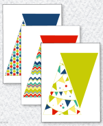 Fiesta Party PRINTABLES:: Pennant Banner