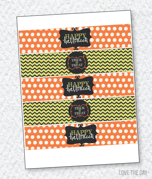 Boo To You Halloween Party:: Drink Labels