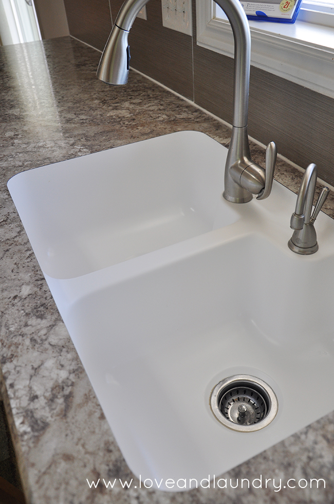 Why Stone Sink In Water : Why we love our custom laminate countertops. We were even able to get ...