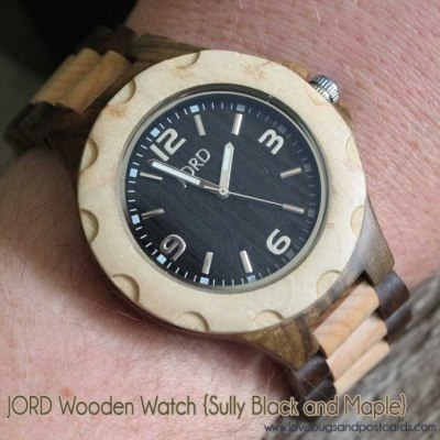 JORD Wood Watch Review {Sully Black and Maple}
