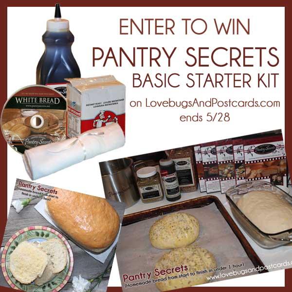 Giveaway Pantry Secrets Basic Starter Kit Ends 5 28