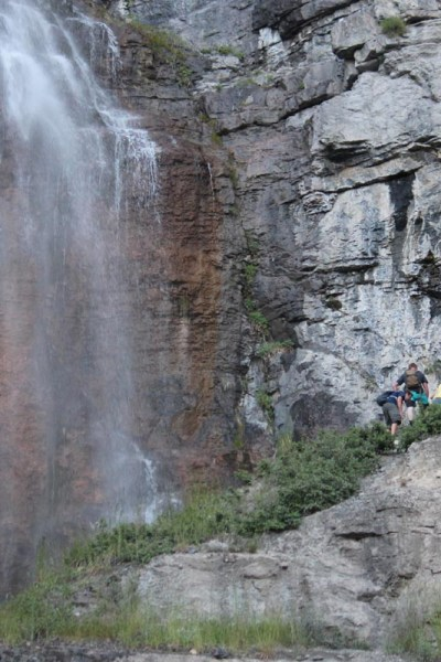 Hike to Stewart Falls (by Provo, Utah)