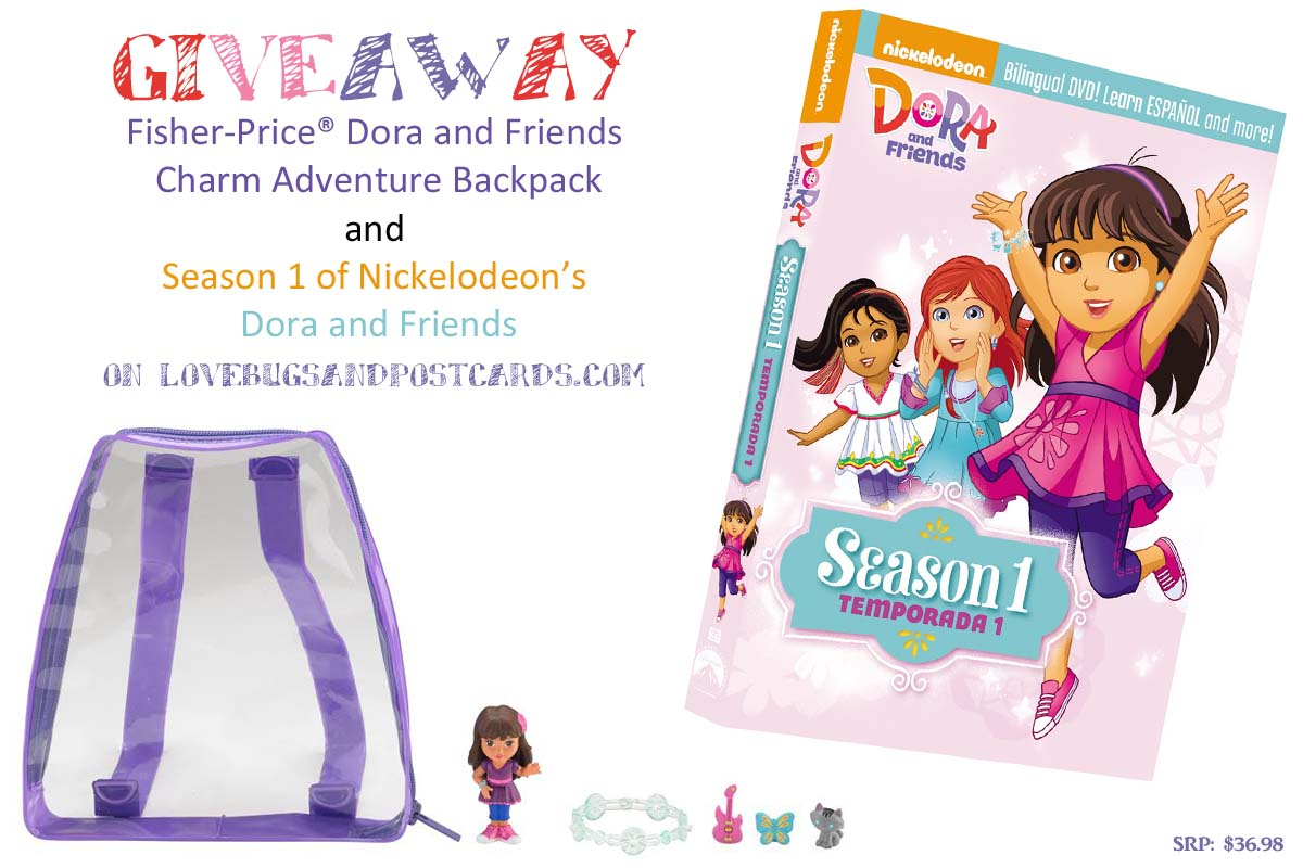 Dora and Friends: The Complete First Season + Charm Adventure Backpack GIVEAWAY!