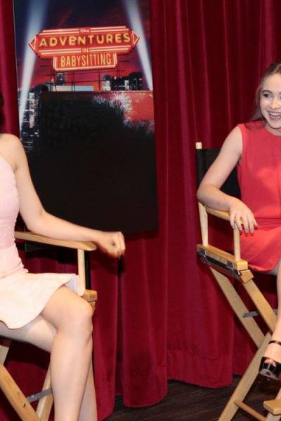 Disney's Adventures in Babysitting interview with Sofia Carson and Sabrina Carpenter