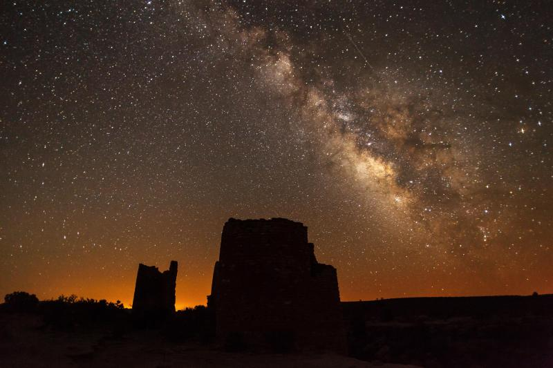 Milky Way at the Square Tower Group