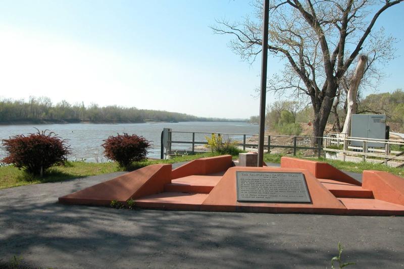 St. Joseph River Crossing on the Missouri River - Credit NPS