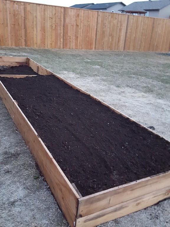 Garden box - step 4