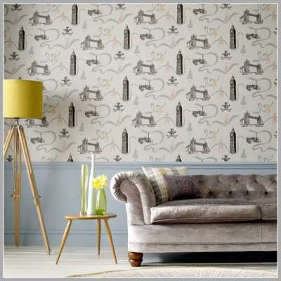 Wallpaper Wednesday: Graham and Brown Jubilee Giveaway - Love Chic Living