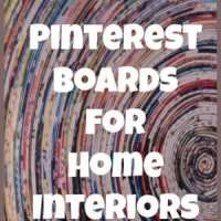 Top 10 Pinterest Boards for Home Interiors