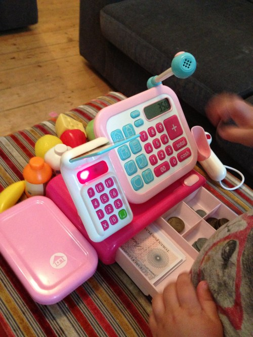 Medium Of Cash Register Toy