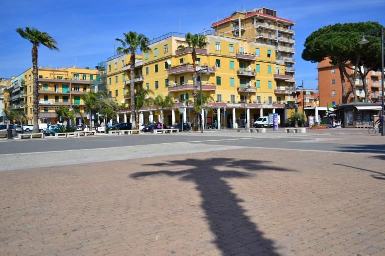 Piazza Rosselini Ladispoli
