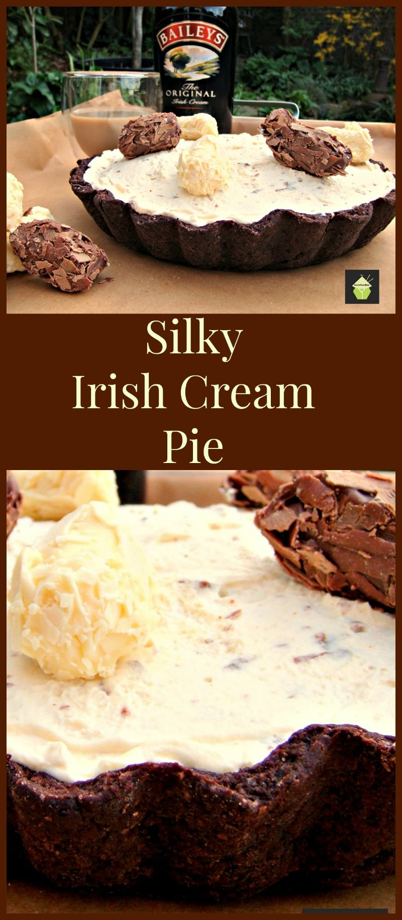 ... cream pie recipe irish cream ricotta white chocolate irish cream pie