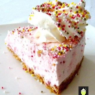 No Bake Strawberry Cheesecake -A lovely dessert and always popular any time of year!