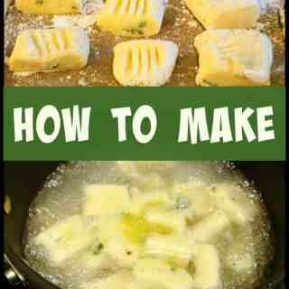 How To Make Easy Gnocchi - Versatile, budget & freezer friendly, uses left over potatoes and YOU choose what flavors you like, Really delicious!