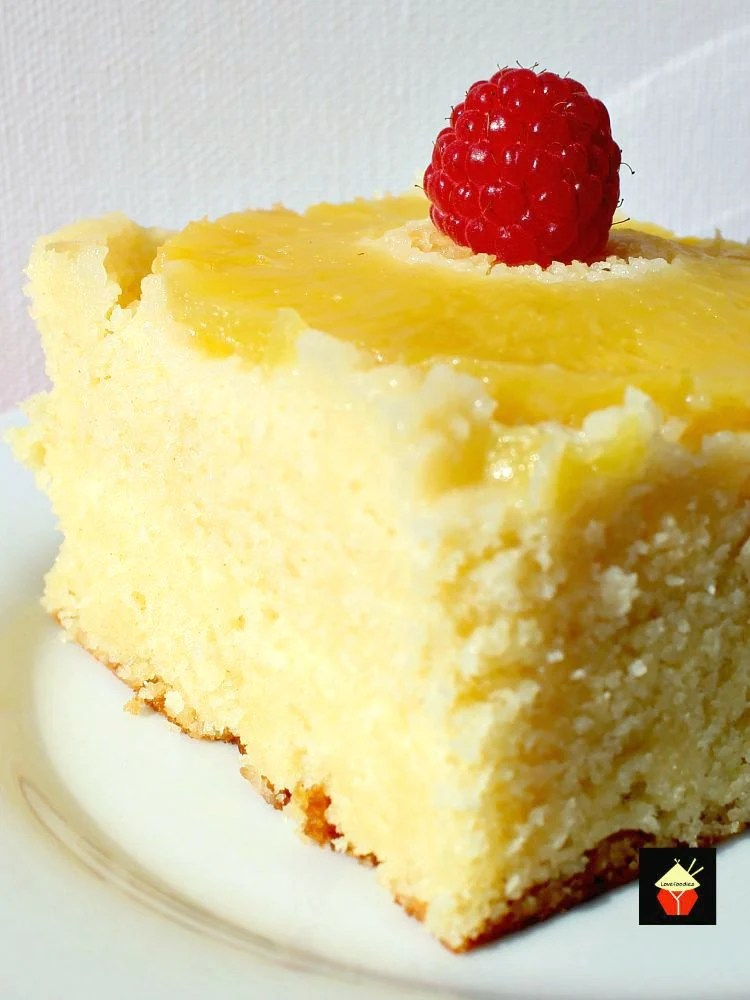 Easy Pineapple Upside Down Cake Lovefoodies