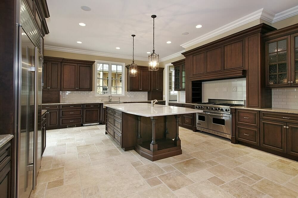 Contemporary Dark Kitchen Cabinets Colors Modern Appliances Meet Gothic Style Inside Ideas