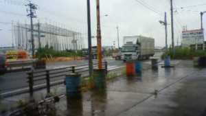 29日目昼過ぎ大雨