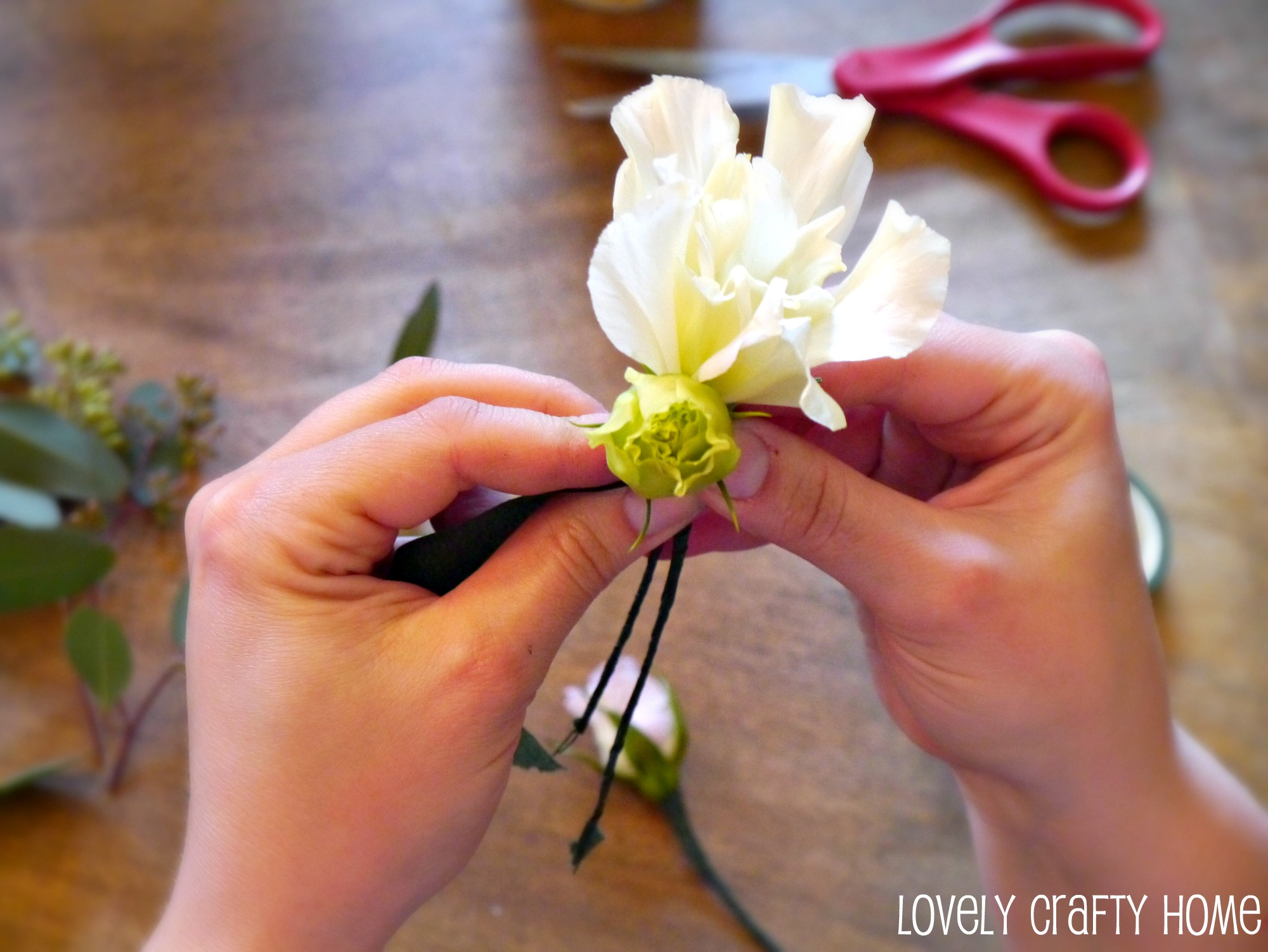 Tutorial How To Make A Corsage Like Pro Electrical Wiring Youtube Together With Sewing Machine 2 Pin Now