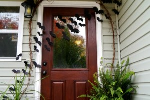 bats on the door 1