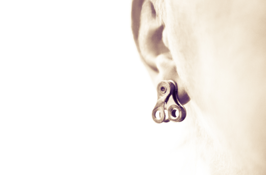 Bike Earring- full resolution